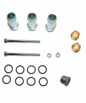 Assembly kit for rail injectors JET (2+2) for 4 cylinders Alisei Direct D. 10