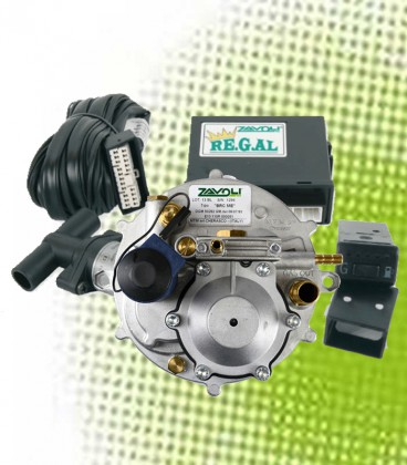 Kit for Carburettor Vehicles with Eletronic Reducer