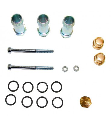 Assembly kit for rail injectors JET (2+2) for 4 cylinders