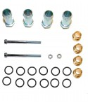Assembly kit for rail injectors JET (3+3) for 6 cylinders