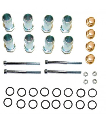 Assembly kit for rail injectors JET (2x4) for 8 cylinders
