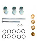 Assembly kit for rail injectors JET (2+3) for 5 cylinders
