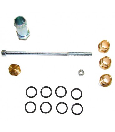 Assembly kit for rail injectors JET (1x4) for 4 cylinders