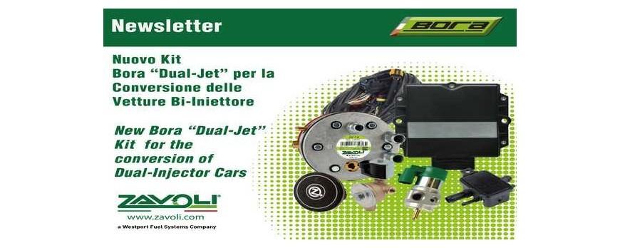 """Nuovo Kit Bora """"Dual-Jet"""""""
