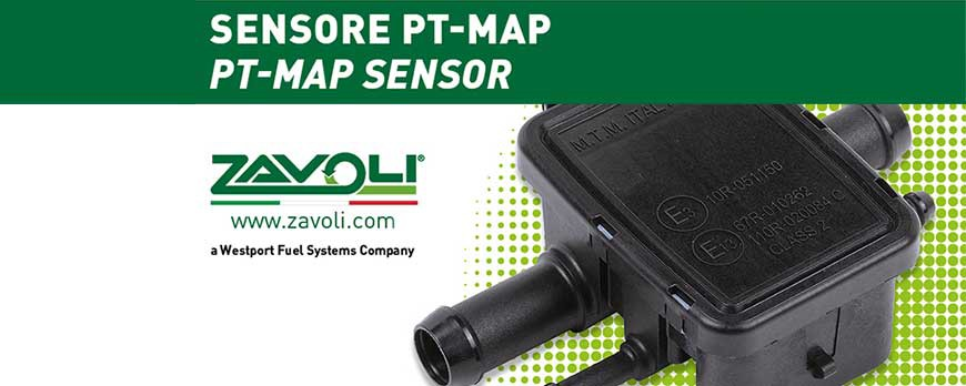 """Sensore pressione e temperatura gas """"PT MAP"""""""